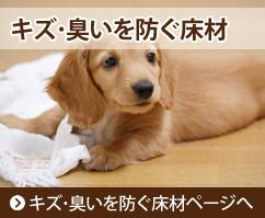 キズ・臭いを防ぐ床材